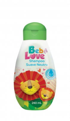 Shampoo Bebê Love Suave Neutro - 240ml